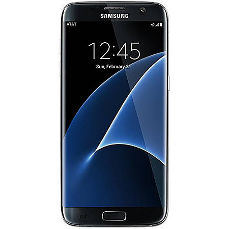 Samsung Galaxy S7 Edge G935V Refurbished Cell Phone, Black, PSC100674
