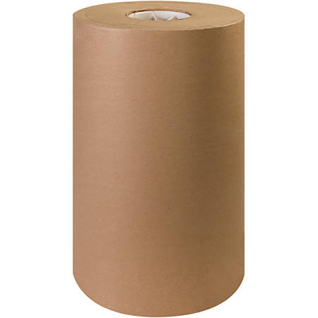 "Office Depot® Brand Kraft Paper Roll, 30 Lb, 15"" x 1,200', 100% Recycled, Kraft"