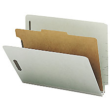 Nature Saver Classification Folders With Standard