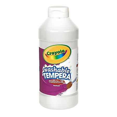 Crayola® Artista II® Tempera Paint, 16 Oz, White
