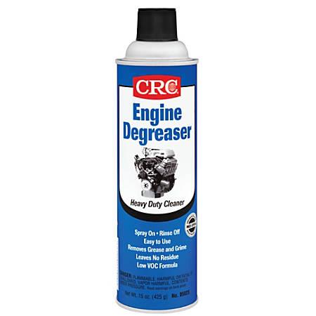 CRC Engine Degreaser, 20 Oz Aerosol Can, Amber