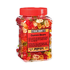 Cyber Sweetz Assorted Gummy Bear Tub