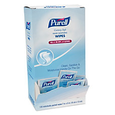 Purell Sanitizing Wipes Pack Of 120