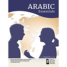 Transparent Language Arabic Essentials for Mac