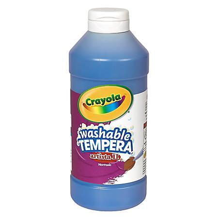 Crayola® Artista II® Tempera Paint, 16 Oz, Ultra Blue