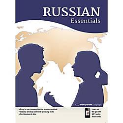 Transparent Language Russian Essentials Download Version