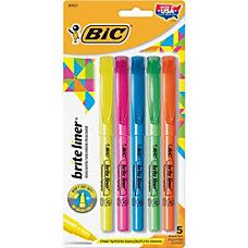 BIC Brite Liner Highlighters Chisel Marker