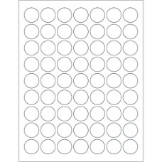 Office Depot Brand Removable Circle Laser