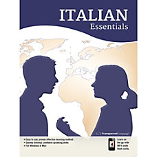 Transparent Language Italian Essentials Download Version