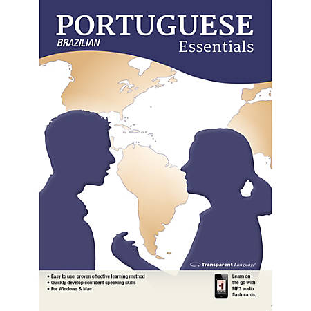 Transparent Language Portuguese (Brazilian) Essentials for Mac, Download Version
