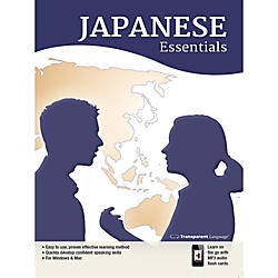 Transparent Language Japanese Essentials for Mac