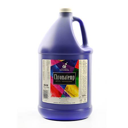 Chroma ChromaTemp Artists' Tempera Paint, 1 Gallon, Ultra Blue