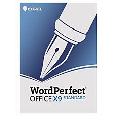 Corel WordPerfect Office X9 Standard Traditional