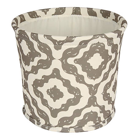 "Realspace® Small Canvas Storage Bin, 8"" x 9"" x 9"", Tan"