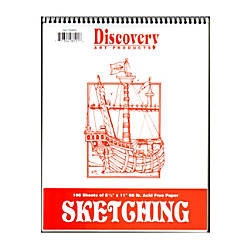 Discovery Sketching Pads 11 x 8