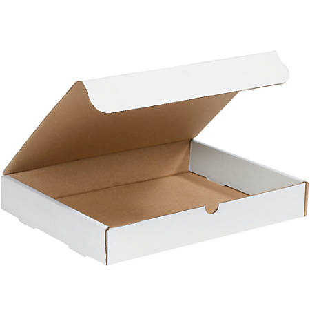 """Office Depot® Brand Literature Mailers, 2"""" x 11 1/4"""" x 14 1/4"""", White, Pack Of 50"""