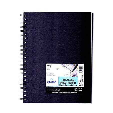 """Canson Montval® Watercolor Paper, 9"""" x 12"""", 50 Sheets"""