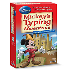 Individual Software Disney Mickeys Typing Adventure