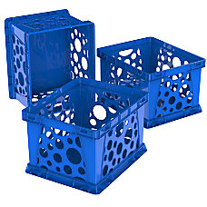 Storex Mini Crates 9 x 7