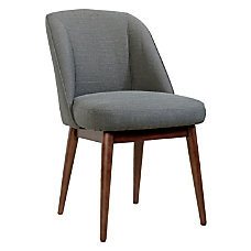 Sauder Select Luna Accent Chair GrayBrown