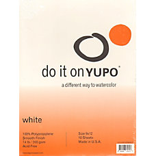Yupo Watercolor Pads 9 x 12