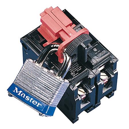 Universal Multi-Pole Breaker Lockout, Red