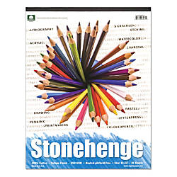 Rising Stonehenge Drawing Pad 11 x