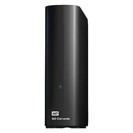 WD Elements WDBWLG0040HBK-NESN 4 TB Hard Drive - External - Desktop