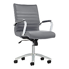 Realspace Modern Comfort Winsley Leather Mid