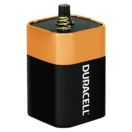 Duracell® Coppertop 6-Volt 908 Alkaline Lantern Battery