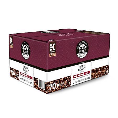 Executive Suite Dark Roast Coffee Keurig® K-Cup® Pods, Box of 70 Pods