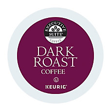 Executive Suite Dark Roast Coffee Keurig