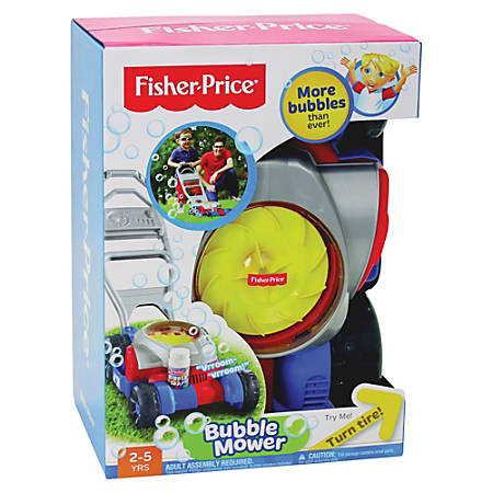 Fisher Price Bubble Mower Plastic By Office Depot Officemax