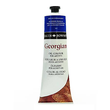 Daler-Rowney Georgian Oil Colors, 7.5 Oz, French Ultramarine