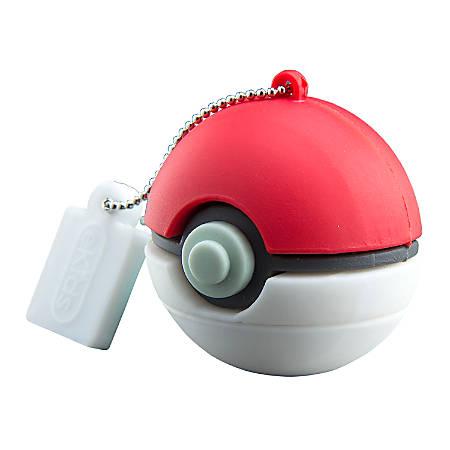 KIDdesigns USB 2.0 Flash Drive, 16GB, Pokémon, Red, PYU16PKFXV7