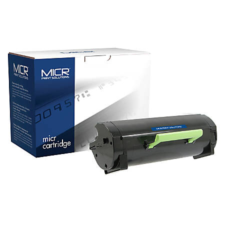 Clover Technologies Group™ MCR410M (Lexmark 50F0XA0(M) / 50F1X00(M)) Extra High-Yield Remanufactured Black MICR Toner Cartridge