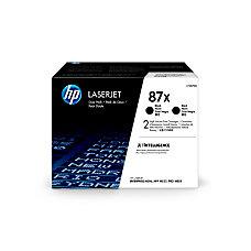 HP 87X CF287XD High Yield Black