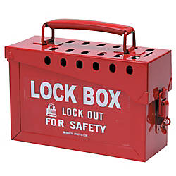 13 LOCK GROUP LOCK BOX RED Item# 467877 at Office Depot in Cypress, TX | Tuggl