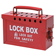 Lock Box 6 in H x
