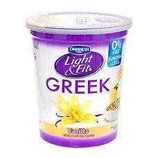 Dannon Light Fit Greek Yogurt 32