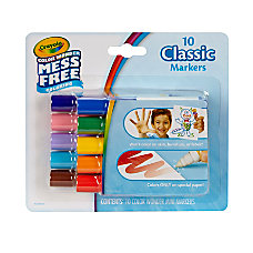 Crayola Color Wonder Mini Markers Conical