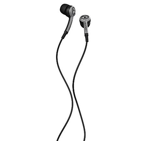 iFrogz™ EarPollution™ Plugz Earbuds With Microphone, Silver