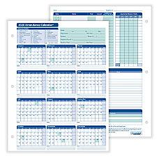 ComplyRight 2020 Attendance Calendar Cards 8
