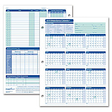 ComplyRight 2019 Attendance Calendar Cards 8