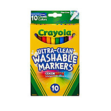 Crayola Ultra Clean Washable Markers Fine