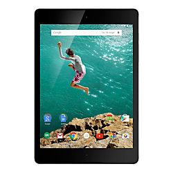 "Google™ Nexus 9 Tablet, 8.9"" Screen, 2GB Memory, 16GB Storage, Android 5.0 Lollipop, Black"
