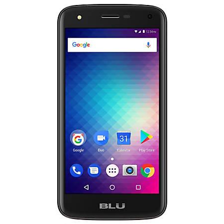 BLU C5 C010Q Cell Phone, Black, PBN201349