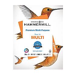 Hammermill Premium Multipurpose Paper Letter Size