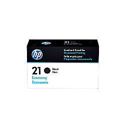 HP 21 Economy Yield Black Ink