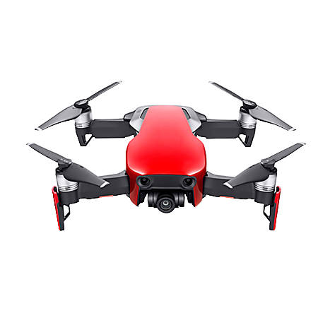DJI Mavic Air Folding Drone With 4K Camera, Flame Red, CP.PT.00000147.01